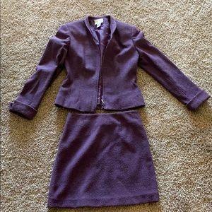 Cache skirt suit set